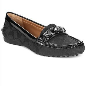 Coach Fortunata Loafer- Black